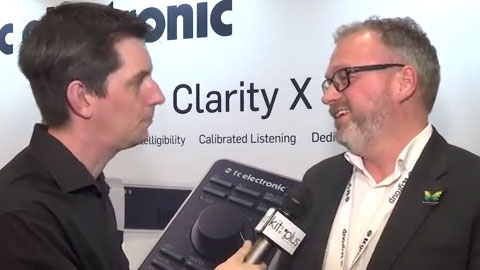 TC ELECTRONIC with Clarity X at NAB 2015
