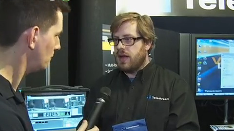 Telestream Live-U Backpack at BVE 2013