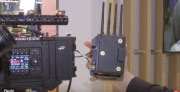 Teradek demonstrates the Bolt 4K Wireless Video System at NAB2019