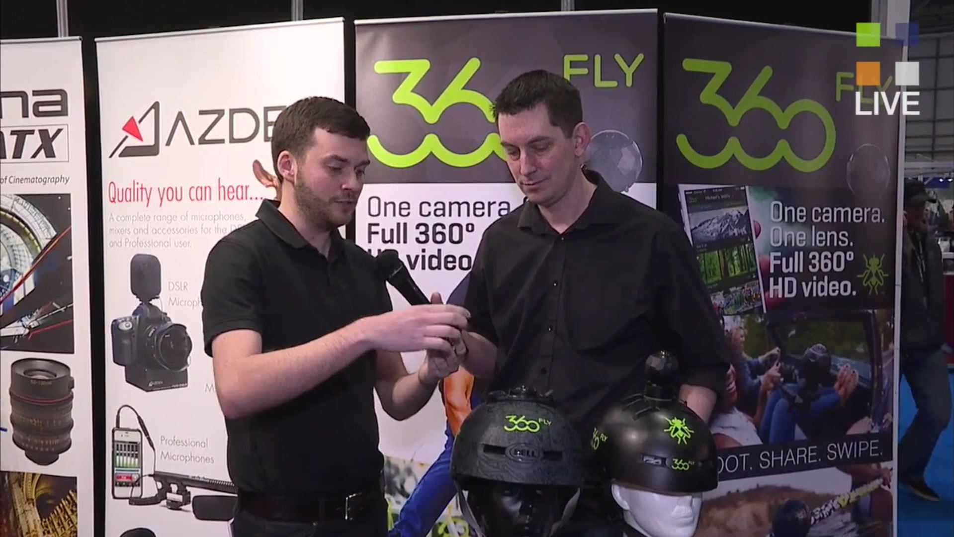 The 360FLY at BVE 2016