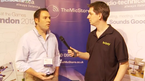 The Mic Store at BVE North 2011
