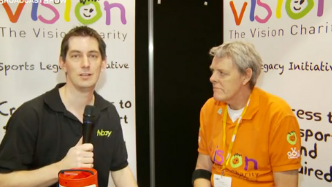 The Vision Charity at BVE North 2011