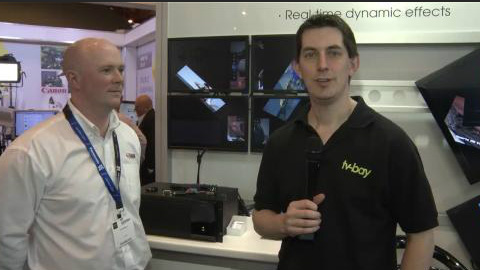 TV ONE at BVE 2012