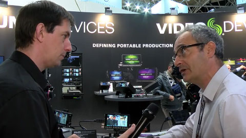 Video Devices PIX-E Series at IBC 2015