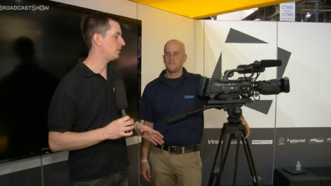 Vinten at NAB 2012