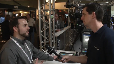 Vinten Radamec at IBC 2012