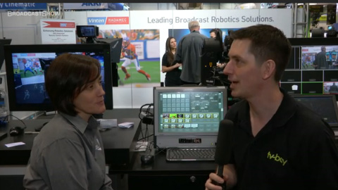 Vinten Radamec at NAB 2012