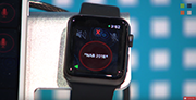 Virtual Panel on Apple watch from Clear-Com at NAB 2018