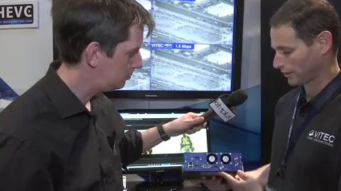 VITEC MGW ACE at NAB 2015