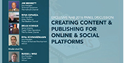 Volicon discuss creating content and publishing for online and social platforms