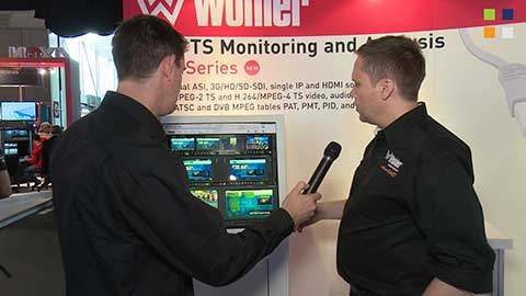 Wohler MPEG Monitoring Series at IBC 2014