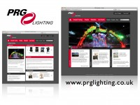 New website for PRG Lighting