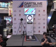9Darts.HK Streams DARTSLIVE Cup Singapore Match with Blackmagic Designs ATEM Production Switchers