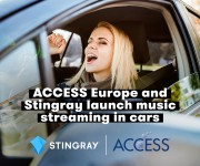 ACCESS Europe partners with leading music service Stingray to deliver greater content choice and entertainment to car users