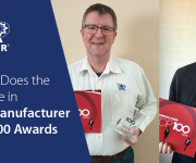 Adder Does the Double in The Manufacturer Top 100 Awards