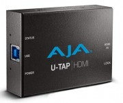 AJA Announces U-TAP USB 3.0 Capture Devices