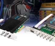 AJA Corvid Developer Cards Power I O for WASP3D and rsquo;s Real-Time Broadcast Graphics