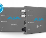 AJA HA5-12G Mini-Converters Now Available
