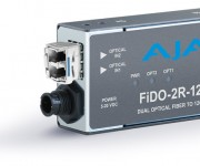 AJA Introduces New FiDO 12G SDI Optical Fiber Mini-Converters at IBC 2017