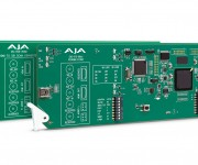 AJA Introduces New openGear and reg; Compatible Cards at IBC 2019