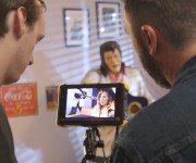 ATOMOS AND STORY AND HEART RELEASE LOGLINE SHORT FILM SHOT ENTIRELY ON THE TRADE SHOW FLOOR