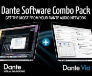 Audinate Announces Dante Via and Dante Virtual Soundcard Bundle for $59.95