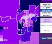 Bannister Lake Web Widgets and New Results Timeline Feature Help Drive Global Televisions Alberta Provincial Election Coverage