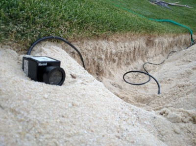 116th US Open uses the new Marshall weatherproof CV502-WPM
