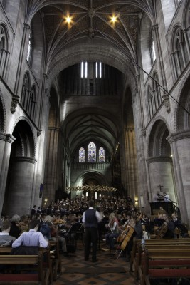 SOUNDFIELD CAPTURES THE LARK ASCENDING IN HEREFORD CATHEDRAL