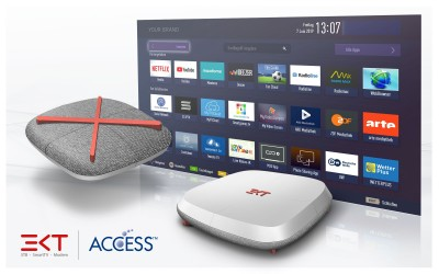 ACCESS and EKT partner to simplify next-generation TV and video services
