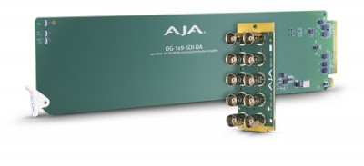 AJA Releases New openGear and reg; Compatible Rack Cards and Frame
