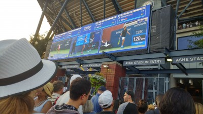 Bannister Lake Software a Smash at the 2018 US Open