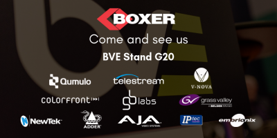 Boxer delivers on new technologies at BVE 2019