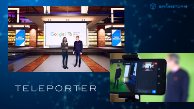 Brainstorm concludes TelePorter, the Google DNI funded project for Immersive Journalism