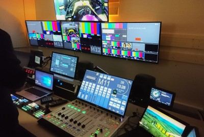 Broadcast Solutions Finland modernises Directors Cut production control rooms