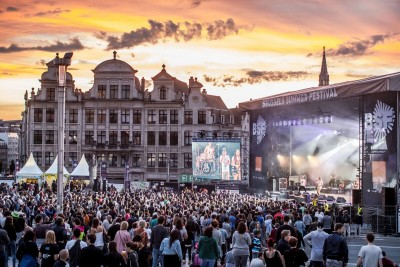 Broadcasting The Biggest Belgian Summer Festivals with Blackmagic Design