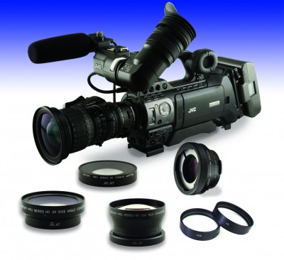 Century intros new Lens Add-ons for JVC GY-HM700, Canon