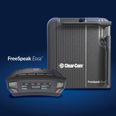 CLEAR-COM PRESENTS U.S. DEBUT OF FREESPEAK EDGE AT AES and NAB NY 2019
