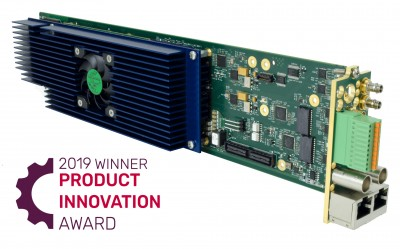 Cobalt Digital and rsquo;s New Software Defined Decoder Wins  Future Product Innovation Award, Presented by TV Technology
