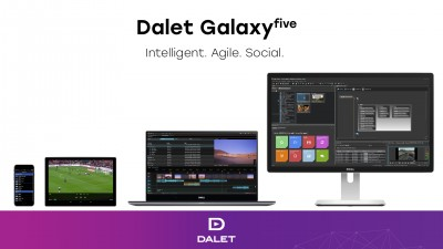 Dalet Galaxy five Brings AI, Social Media and Hybrid Workflows to BroadcastAsia2018