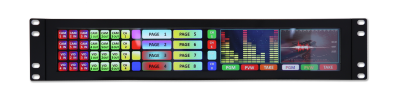 Densitron introduces new high resolution rack mount display module