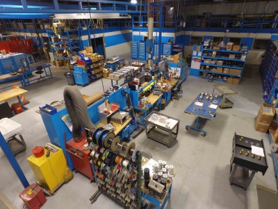 Dielectric Prepares Manufacturing Center for Busy Production Period