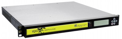 Digigram AoIP Distribution Codec IQOYA *SERV LINK Now Supports up to 32 MADI Stereo Channels and 32 Stereo Codecs in 1-RU