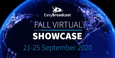 EasyBroadcast to Host Fall Virtual Showcase on Latest Video Streaming Innovations