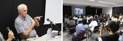 GARRETT BROWN TAKES HIS MOVING CAMERA PRESENTATION TO JAPAN