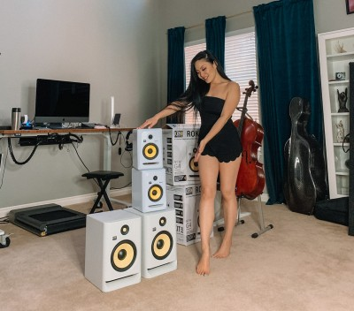 GRAMMY-nominated Musician Upgrades Project Studio With KRK Systems and rsquo; Latest Studio Monitors