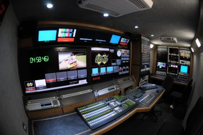 Hayfisher broadcast commissions new ob van with rts for Motors tv live stream