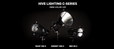 Hive Lighting Introduces Bee 50-C and Hornet 200-C at NAB 2018