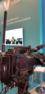 IMT Vislink and rsquo;s Innovative Single-Frame Latency UHD HCAM and UltraReceiver Wireless Camera Solution Makes U.S. Debut at NAB NY
