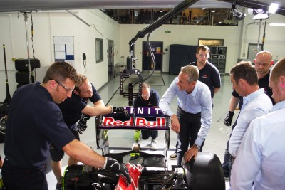 Infiniti Red Bull Racing use Polecam and LMC PICO for F1 pit stop analysis